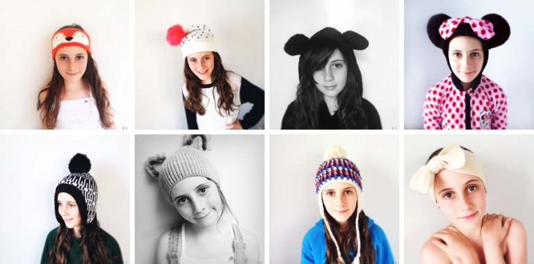 kid's hats and beanies