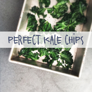 perfect baked kale chips