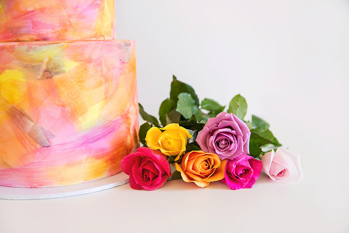 styled cake photography