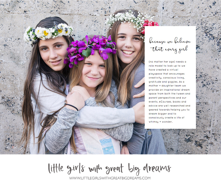 little girls with great big dreams new website